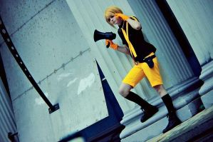 Kagamine Len - Love is War by Zetsubou-Zetsu