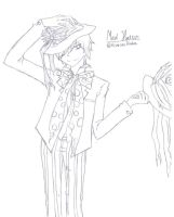Reim as Mad Hatter by RinintaHaha