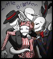 The Little Slender Brothers by lehstar