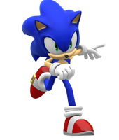 Sonic 06 Cover pose by Pho3nixSFM