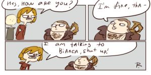 Dragon Age: Inquisition, doodles 22 by Ayej