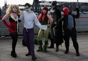 London Super Comicon 2015 54 - DC Group by cosmicnut