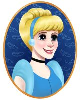 Cinderella by courtneygodbey