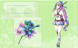 TG: Caetilly Forget-me-not by Fortranica