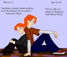 Ron's Transformation by DKCissner