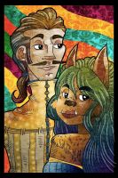 Beast and the beauty by PickledAlice