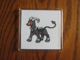 #229 Houndoom by luna-notte