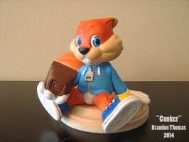 Conker Sculpture by BThomas64
