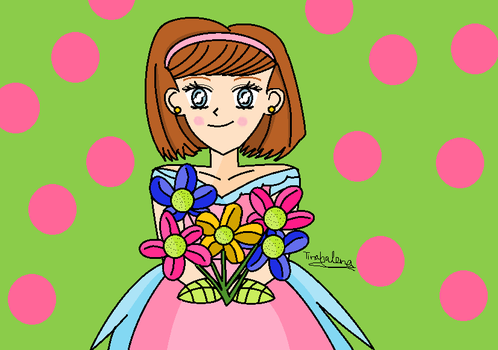 Flower Girl by TinaBalena