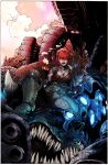 Lee and Williams Gears of War by INKIST by puzzlepalette