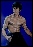 Bruce Lee get angry by tonio48