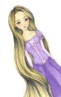 Rapunzel by ShadowSeason