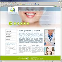 Esthetic Dental Web2 main page by HalitYesil