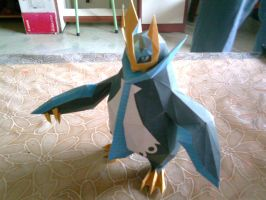 Empoleon Papercraft by ShiroKoori