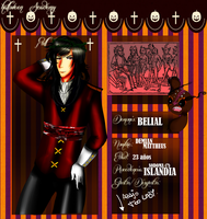 HA-Demian Belial by Hishousophy