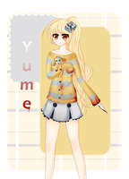 New OC: Yume :3 by Sunny-tan