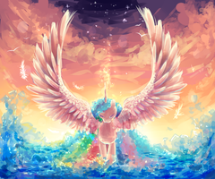 Celestia by AquaGalaxy