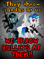 No Panda is Safe! by AleximusPrime