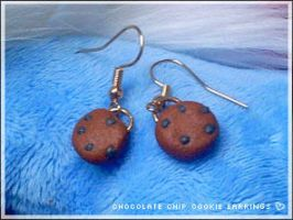 DIY Yummy Cookie Earrings by numb-existence