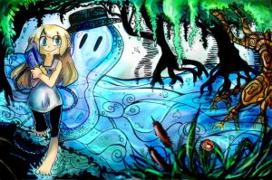 Bookmonster 2_colore by Tegraliz