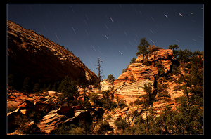 Zion by Moonlight by narmansk8