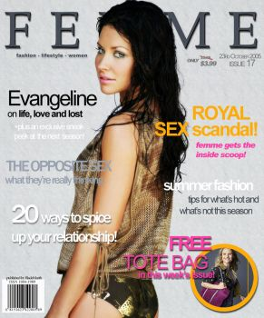 Cover of Femme Magazine by BladeMarth