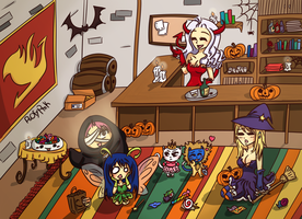 Fairy Tail Halloween After Party !! by PoOfyPink