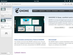 Gnome App Sketches: Tablet Browser Home by spiceofdesign