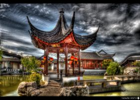 Chinese Garden 2 by shadowfoxcreative