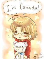I'm Canada by chanchala-t