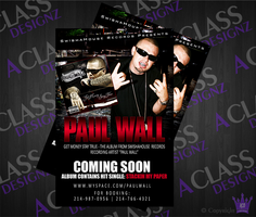 Flyer for Project by aCLASSdesignz