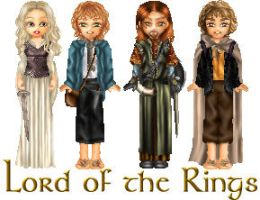 Lord of the Rings dollz by Odhana