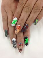 DeviantArt Nails by bittygirla