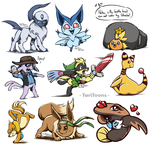 Pokemon Requests #2 by TariToons