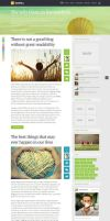 SeaShell - Smart And Creative WordPress Blog Theme by mekshq