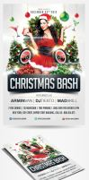 Christmas Bash Party Flyer by saltshaker911