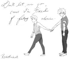Don't let me go by Laurir