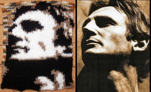 Knitted Liam Neeson by GRichmond