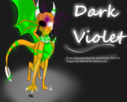 Dark Violet: Poster by Cilote12