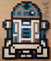 R2 D2 by PerlerPixie