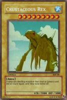 Crustaceous Rex Yu-Gi-Oh Card by Ronnie-R15