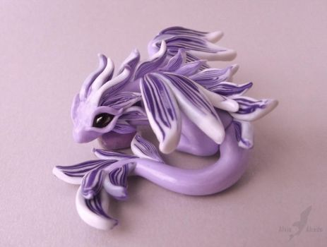 Amethyst fairy dragon by AlviaAlcedo