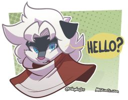 Meli says hello by SupaCrikeyDave
