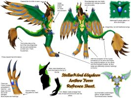 Anthro Form - Refrence Sheet. by StellarWind