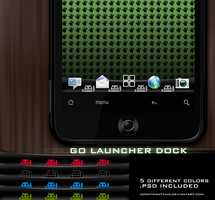 GO Launcher dock android by ididntwantthis