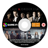 Law & Order UK Disk by LevelInfinitum