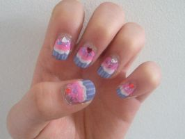 CupCake Nails by miss-manami