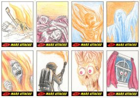 Heritage Mars Attacks! Sketch Cards - 01 by Monster-Man-08