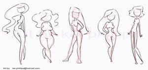 body shapes by kei by kinkei