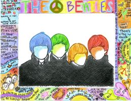 The Beatles by Kumu18